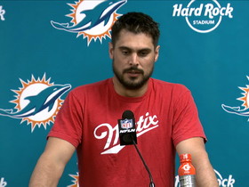 Watch: Dolphins postgame press conference