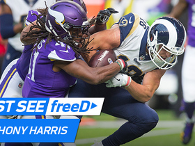 Watch: freeD: Anthony Harris forces goal line fumble for a crucial turning point | Week 11