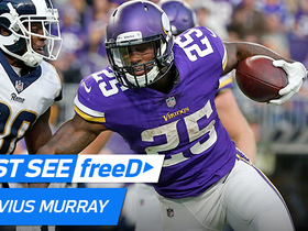 Watch: freeD: Latavius Murray runs right through tackle into the end zone | Week 11