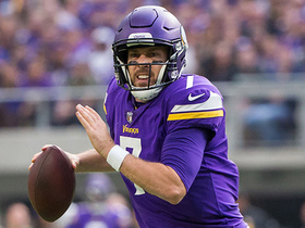 Watch: Wyche: Vikings need to make the playoffs before considering changes at QB