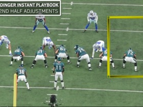 Watch: Instant Playbook: Baldy breaks down the Eagles' second-half adjustments in Week 11