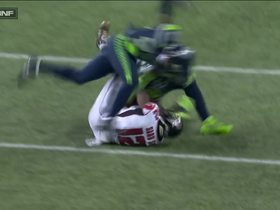 Watch: Mohamed Sanu beats Jeremy Lane for 21-yard catch