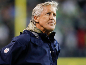 Watch: Pete Carroll's challenge costs Seahawks a key timeout