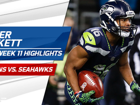 Watch: Tyler Lockett highlights | Week 11