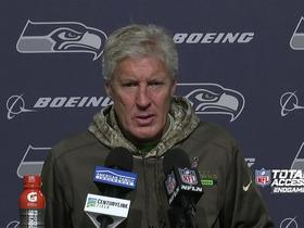 Pete Carroll comments on Blair Walsh's missed field goal