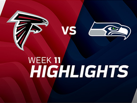 Falcons vs. Seahawks highlights | Week 11