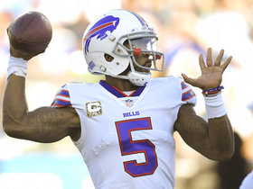 Who will be the starting QB for the Bills in Week 12?
