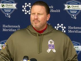 Watch: Coach McAdoo updates injuries and previews Redskins
