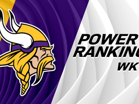 Watch: Vikings rise two spots in Week 12 power rankings