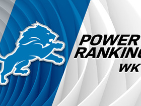 Watch: Lions rise four spots in Week 11 power rankings