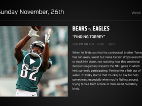 Watch: DDFP: Bears at Eagles Week 12 preview