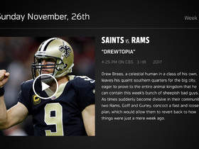 Watch: DDFP: Saints at Rams Week 12 preview