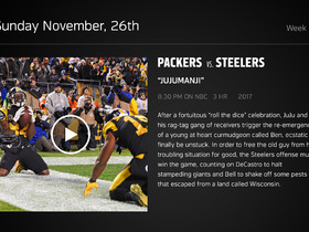 Watch: DDFP: Packers at Steelers Week 12 preview