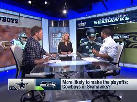 Watch: More likely to make the playoffs: Cowboys or Seahawks?