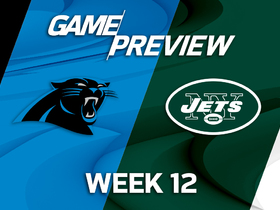 Watch: Panthers at Jets Game Preview Week 12