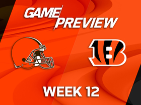 Watch: Browns at Bengals Game Preview Week 12