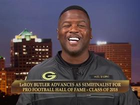 Watch: LeRoy Butler: I represent kids who were told 'you can't do anything'