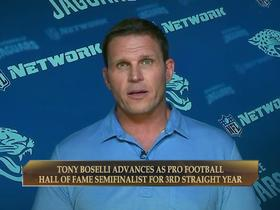 Watch: Tony Boselli advances to third straight year of the HOF semifinals
