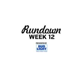 Watch: NFL RUNDOWN | WEEK 12