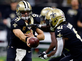 Warner: Pressure is off Brees with run game succeeding