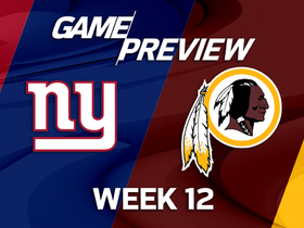 Watch: Giants vs. Redskins preview | 'NFL Playbook'