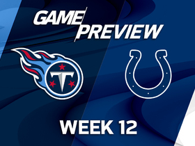 Watch: Titans vs. Colts preview | 'NFL Playbook'