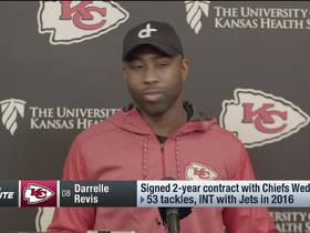 Watch: Revis on role with Chiefs: It's about utilizing me to help win