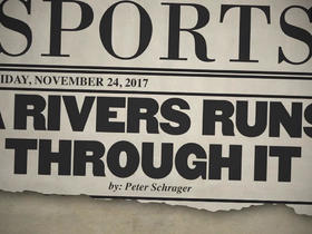 Watch: Tomorrow's headlines today: A Rivers runs through it