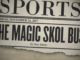 Watch: Tomorrow's headlines today: The magic Skol bus