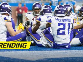 Watch: Keenum keeps it on TD, Vikings FEAST in the end zone