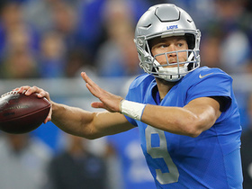 Watch: Stafford sets all-time Thanksgiving passing yards mark on Jones TD