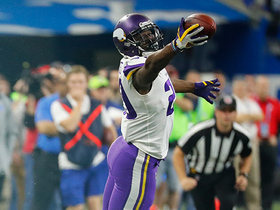 Watch: Xavier Rhodes seals the game with big-time INT