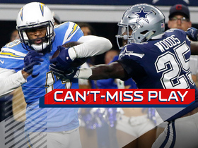 Watch: Can't-Miss Play: Keenan Allen breaks four tackles on 42-yard TD