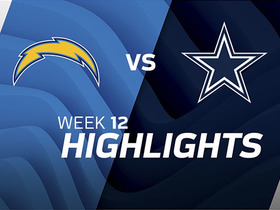 Chargers vs. Cowboys highlights | Week 12