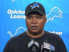 Jim Caldwell after Lions' loss: 'The sky is not falling for us'