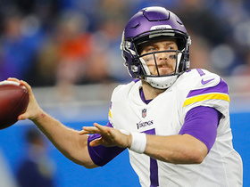 Watch: McGinest: Talk of a potential QB change is 'over' for Vikings
