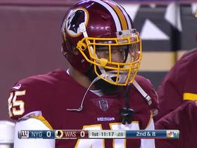 Watch: Rare mental error by Redskins turns near-perfect punt into touchback