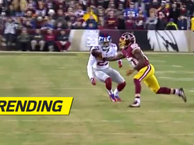 Jamison Crowder snatches pass out of mid-air with one hand