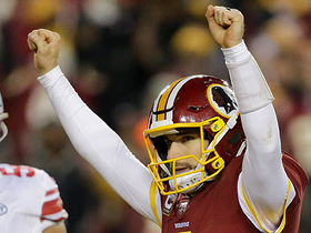 Watch: Cousins gives Redskins late lead on clutch TD strike to Doctson