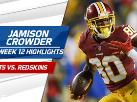 Watch: Jamison Crowder highlights | Week 12