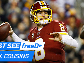 Watch: freeD: Go inside Cousins helmet as he finds Doctson for TD | Week 12