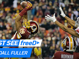 Watch: freeD: Kendall Fuller snags Eli Manning's pass out of the air for the INT to ice the Washington win | Week 12