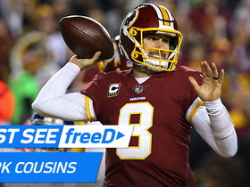 Watch: freeD: Go inside Cousins' helmet as he spies wide-open Crowder for TD | Week 12