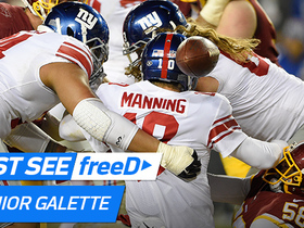 Watch: freeD: Galette envelops Eli for game-clinching sack | Week 12