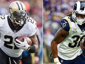Who will have a bigger game: Mark Ingram or Todd Gurley?