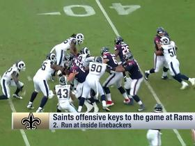 Watch: Six keys to a Saints victory over Rams on Sunday