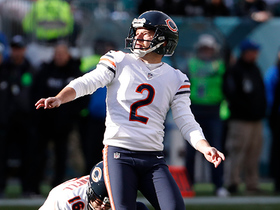 Cairo Santos misses his first field-goal attempt with Bears