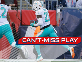 Can't-Miss Play: Reshad Jones scoops and scores on Patriots' bad snap
