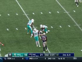 Bobby McCain jumps Amendola's route for an impressive INT