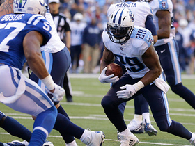 DeMarco Murray ducks under Colts' defenders for 1-yard TD